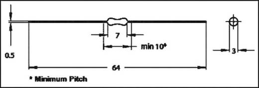 HF-spoel Axiaal bedraad 0.1 µH 0.11 Ω 1.1 A Fastron MICC-R10M-01 1 stuks