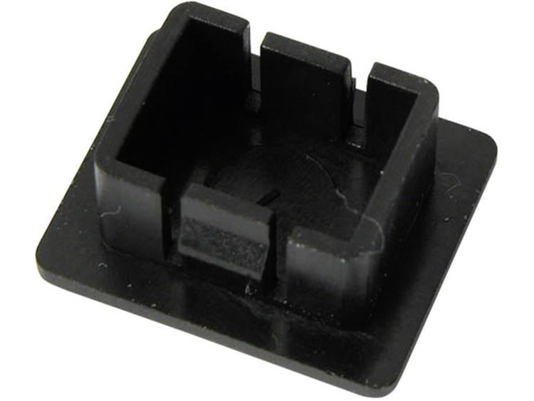 EFB Elektronik blindstop voor E2000simplex SCsimplex, LC-Duplex kunststof zwart