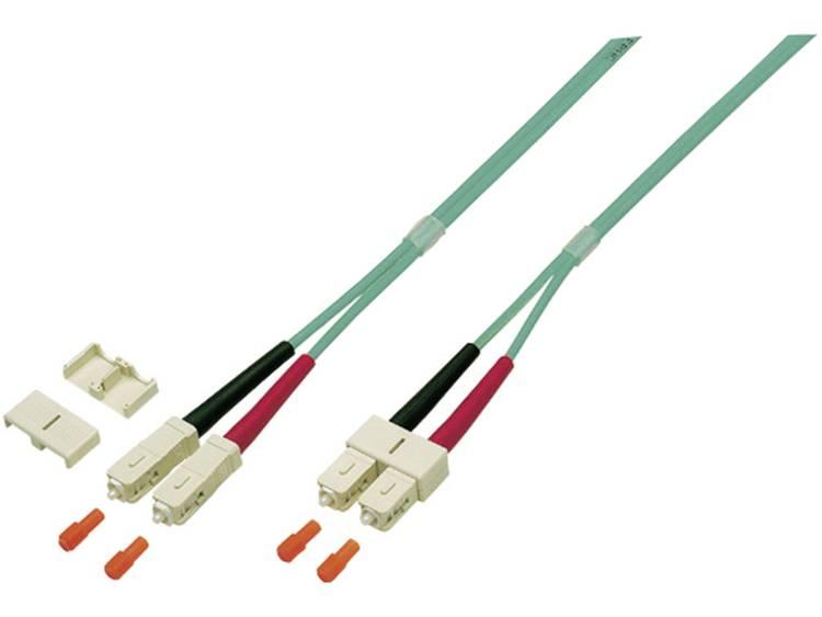 Kabel EFB Elektronik Glasvezel [1x SC-stekker - 1x SC-stekker] 50/125µ 5 m