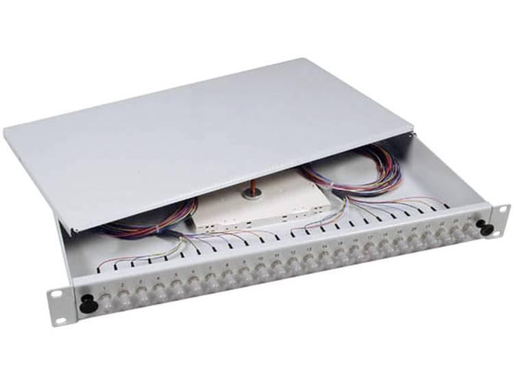 Glasvezel splitterbox EFB Elektronik B70006.24OM3 24 poorten ST Ingericht 1 HE