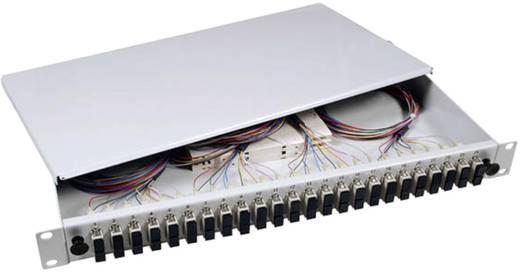 Glasvezel splitterbox EFB Elektronik B70203.12OM3 12 poorten SC Ingericht 1 HE
