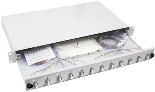 EFB Elektronik B71902.12OM3 Glasvezel splitterbox 12 poorten LC Ingericht 1 HE