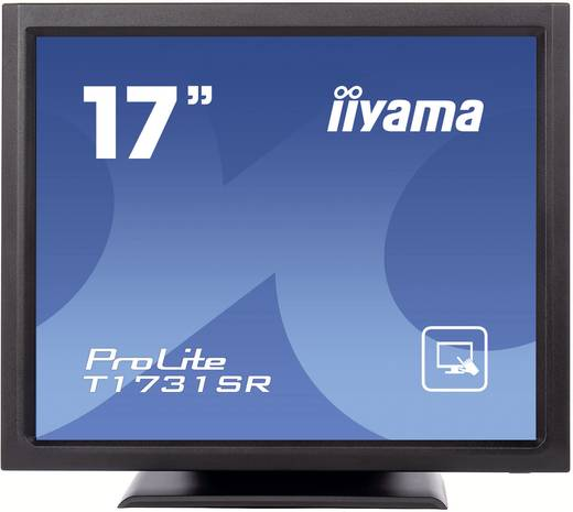 Iiyama T1731SR-B1 Touchscreen monitor 43.2 cm (17 inch) 5:4 5 ms VGA, DVI