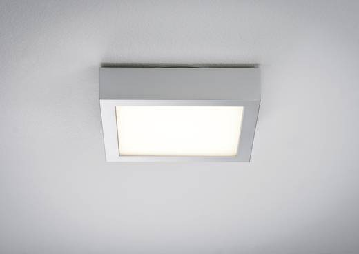 LED-plafondlamp Warm-wit Chroom (mat), Wit Paulmann 70387