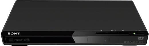 Sony DVP-SR170 DVD-speler Zwart