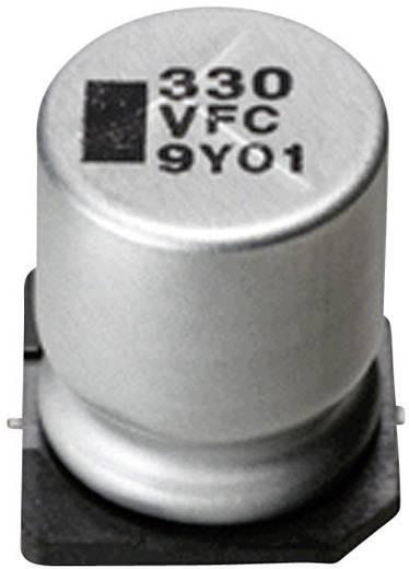 Elektrolytische condensator SMD 220 µF 6.3 V 20 % (Ø x l) 6.2 mm x 8 mm Panasonic EEEFC0J221P 1 stuks