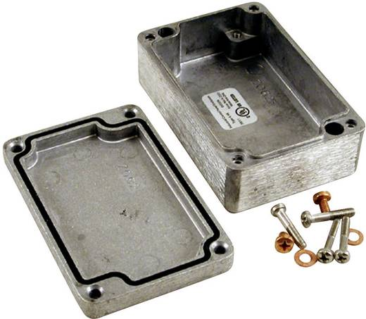 Hammond Electronics 1590Z164 Universele behuizing 361 x 120 x 80 Aluminium Spuitgieten Lichtgrijs (RAL 7035) 1 stuks