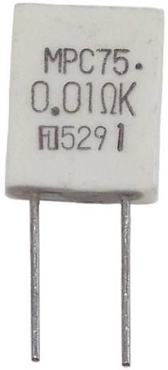 Fukushima Futaba MPC75 5W 0,01 ohm 10% Metaalfilmweerstand 0.01 Ω Radiaal bedraad MPC75 5 W 1 stuks
