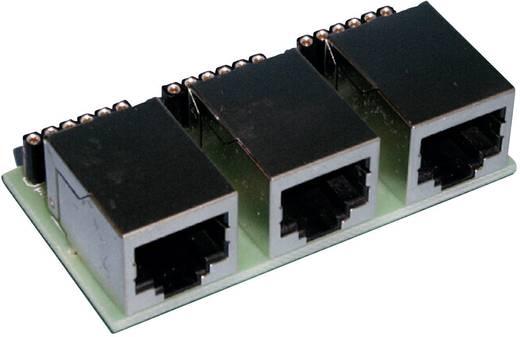 LDT Littfinski Daten Technik Adap-HSI-s88-N 3-voudige adapter S 88 6-polig Kant-en-klare module Universeel