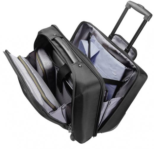 """Samsonite Ergo-Biz Rolling Tote Briefcase met wieltjes voor notebooks tot 39,62 cm (15,6"""") zwart"""