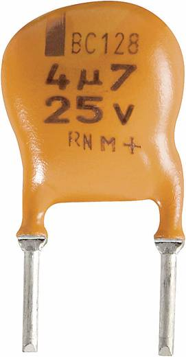 Elektrolytische condensator Radiaal bedraad 5 mm 2.2 µF 25 V/DC 20 % (Ø x h) 10 mm x 7 mm Vishay 2222 128 36228 1 stuks