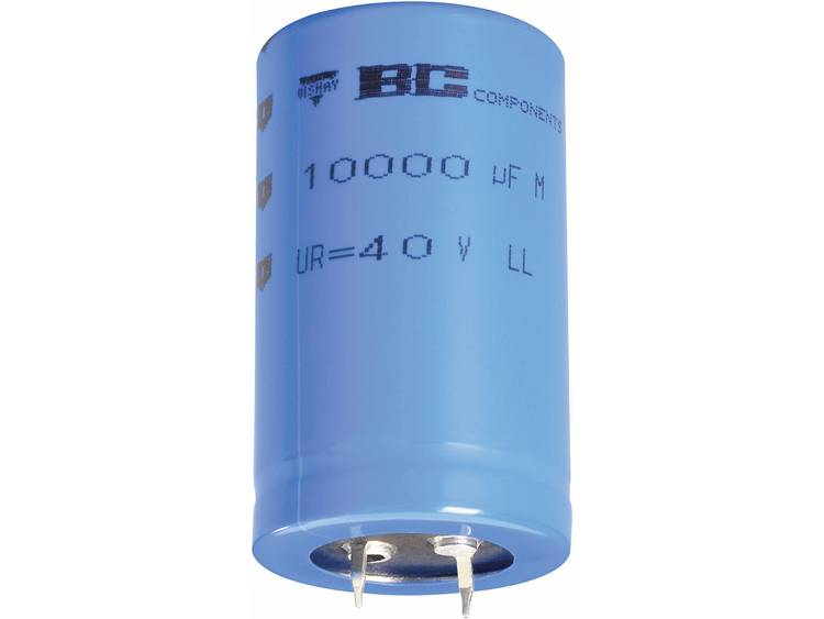 Vishay 2222 058 54473 Elektrolytische condensator Snap-in 10 mm 47000 µF 10 V-DC 20 % (Ø x h) 35 mm