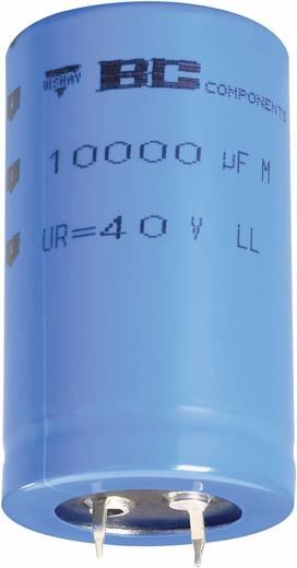 Elektrolytische condensator Snap-in 10 mm 2200 µF 100 V/DC 20 % (Ø x h) 30 mm x 50 mm Vishay 2222 058 49222 1 stuks