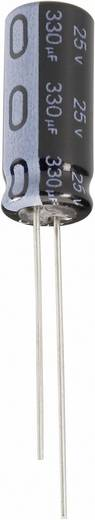Elektrolytische condensator Radiaal bedraad 1.5 mm 2.2 µF 63 V 20 % (Ø x h) 4 mm x 7 mm Jianghai ECR1JQG2R2MFF150407 1