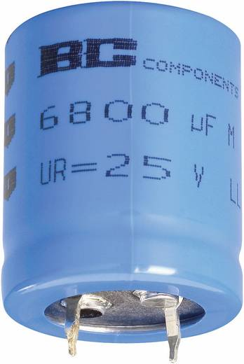 Elektrolytische condensator Snap-in 10 mm 22000 µF 16 V/DC 20 % (Ø x h) 30 mm x 40 mm Vishay 2222 056 55223 1 stuks