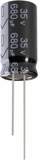 Elektrolytische condensator Radiaal bedraad 7.5 mm 220 µF 100 V/DC 20 % (Ø x h) 16 mm x 25 mm Jianghai ECR2AGC221MFF751625 1 stuks