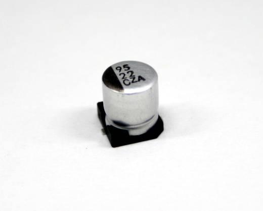 Elektrolytische condensator SMD 100 µF 35 V 20 % (Ø x l) 6.3 mm x 7.7 mm Europe ChemiCon EMZA350ADA101MF80G 900 stuks