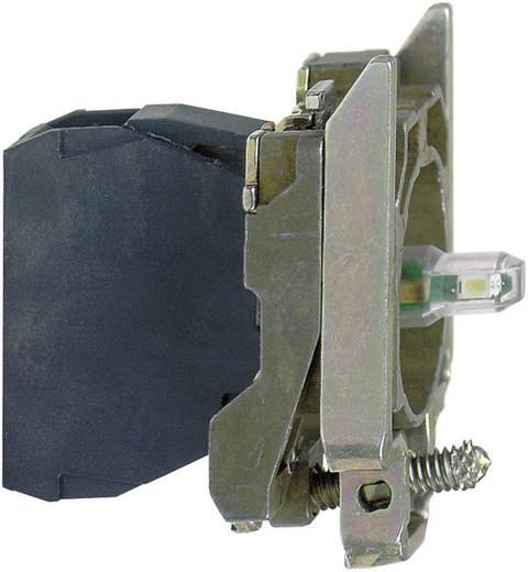 Fitting Met bevestigingsadapter, Met fitting Blauw 24 V/DC, 24 V/AC Schneider Electric ZB4BVB6 1 stuks