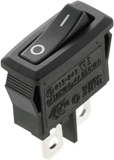 SCI R13-243F-02 Wipschakelaar 250 V/AC 4 A 1x uit/(aan) schakelend 1 stuks