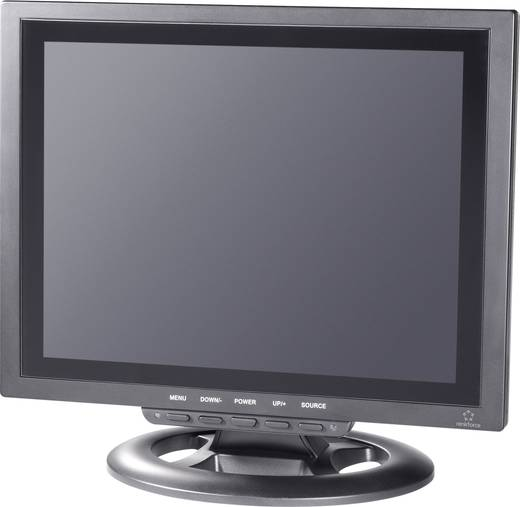 LCD-bewakingsmonitor 30.48 cm (12 inch) Renkforce 449238 800 x 600 pix Zwart