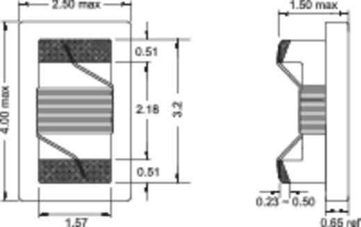 HF-spoel SMD 1206 150 nH 0.31 Ω Fastron 1206AS-R15J-01 1 stuks