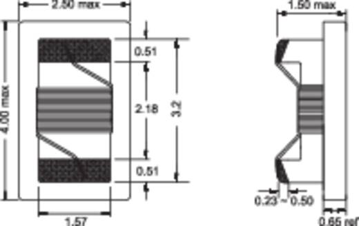 HF-spoel SMD 1206 220 nH 0.5 Ω Fastron 1206AS-R22J-01 1 stuks