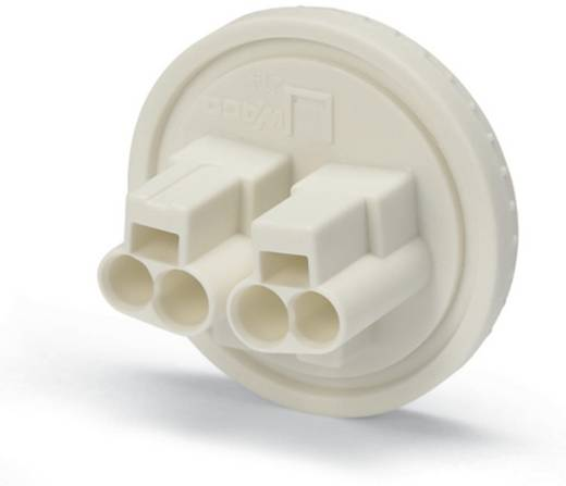WAGO Verbindingsklem Flexibel: - Massief: 0.5-1.5 mm² Aantal polen: 2 5000 stuks Geel