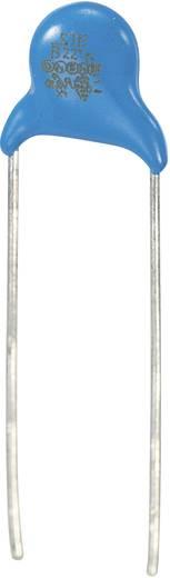 Keramische schijfcondensator Radiaal bedraad 220 pF 250 V/AC 10 % 1 stuks