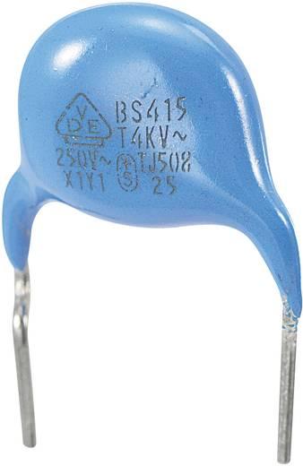 Keramische schijfcondensator Radiaal bedraad 330 pF 250 V/AC 10 % 1 stuks