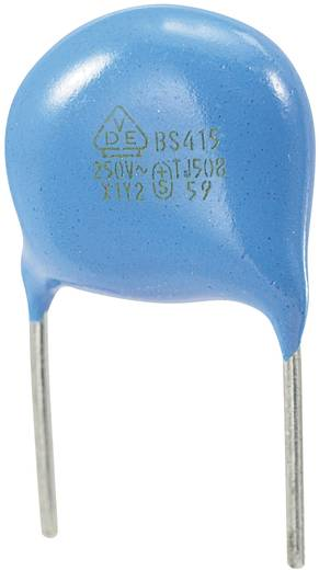 Keramische schijfcondensator Radiaal bedraad 680 pF 250 V/AC 10 % 1 stuks