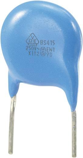 Keramische schijfcondensator Radiaal bedraad 1000 pF 250 V/AC 10 % 1 stuks