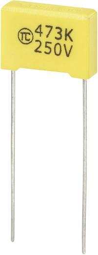 MKS-foliecondensator Radiaal bedraad 0.047 µF 250 V/DC 5 % 10 mm (l x b x h) 13 x 4 x 9 mm 1 stuks