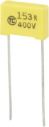 MKS-foliecondensator Radiaal bedraad 0.015 µF 400 V/DC 5 % 10 mm (l x b x h) 13 x 4 x 9 mm 1 stuks