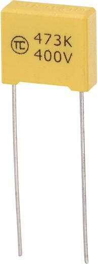 MKS-foliecondensator Radiaal bedraad 0.047 µF 400 V/DC 5 % 10 mm (l x b x h) 13 x 5 x 11 mm 1 stuks