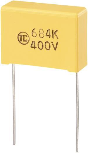 MKS-foliecondensator Radiaal bedraad 0.68 µF 400 V/DC 5 % 22.5 mm (l x b x h) 26.5 x 10 x 19 mm 1 stuks