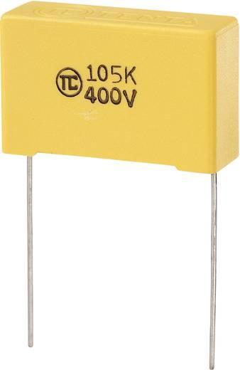 MKS-foliecondensator Radiaal bedraad 1 µF 400 V/DC 5 % 27.5 mm (l x b x h) 32 x 11 x 20 mm 1 stuks