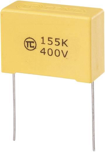MKS-foliecondensator Radiaal bedraad 1.5 µF 400 V/DC 5 % 27.5 mm (l x b x h) 32 x 13 x 22 mm 1 stuks