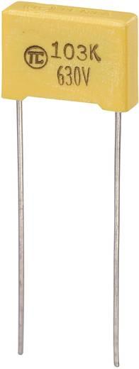 MKS-foliecondensator Radiaal bedraad 0.01 µF 630 V/DC 5 % 10 mm (l x b x h) 13 x 4 x 9 mm 1 stuks
