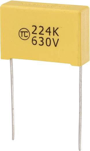 MKS-foliecondensator Radiaal bedraad 0.22 µF 630 V/DC 5 % 22.5 mm (l x b x h) 26.5 x 8.5 x 17 mm 1 stuks