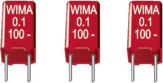 Wima MKS2 MKS-foliecondensator Radiaal bedraad 0.22 µF 63 V/DC 20 % 5 mm (l x b x h) 7.2 x 3 x 7.5 mm 1 stuks