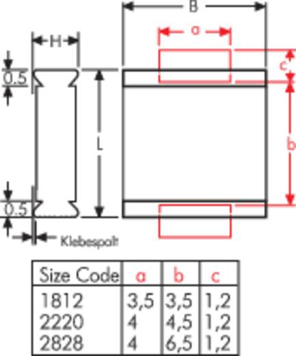 Wima Polyester condensator SMD 1812 0.01 µF 63 V 20 % (l x b x h) 4.8 x 3.3 x 2 mm 1 stuks