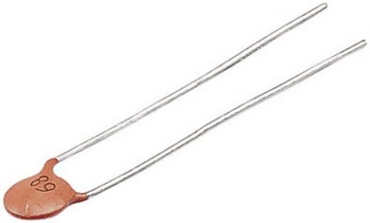 Keramische schijfcondensator Radiaal bedraad 68 pF 500 V 5 % (Ø) 6 mm 1 stuks