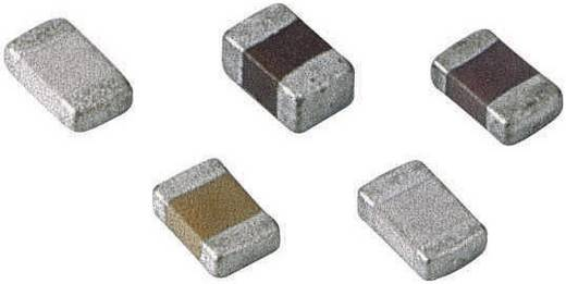 Keramische condensator SMD 0805 0.1 µF 50 V 10 % 1 stuks