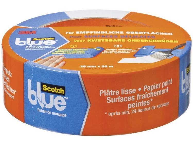 ScotchBlue schilderstape (l x b) 50 m x 36 mm Blauw 80EU3650 3M Inhoud: 1 rollen