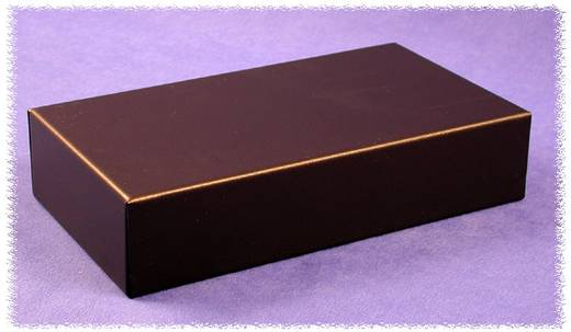 Hammond Electronics 1431-8BK3 Behuizingsdeksel 143 x 76 x 1 Staal Zwart 1 stuks