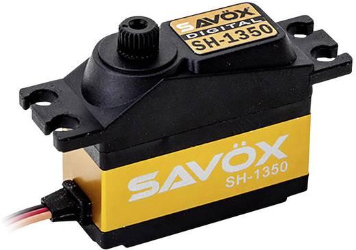 Savöx Midi-servo SH-1350 Digitale servo Materiaal (aandrijving): Kunststof Stekkersysteem: JR