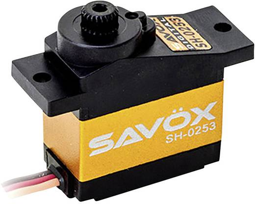 Savöx Mini-servo SH-0253 Digitale servo Materiaal (aandrijving): Kunststof Stekkersysteem: JR