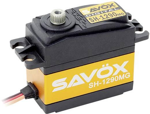 Savöx Standaard servo SH-1290MG Digitale servo Materiaal (aandrijving): Metaal Stekkersysteem: JR