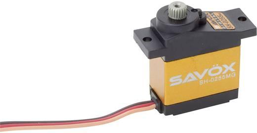 Savöx Mini-servo SH-0255MG Digitale servo Materiaal (aandrijving): Metaal Stekkersysteem: JR