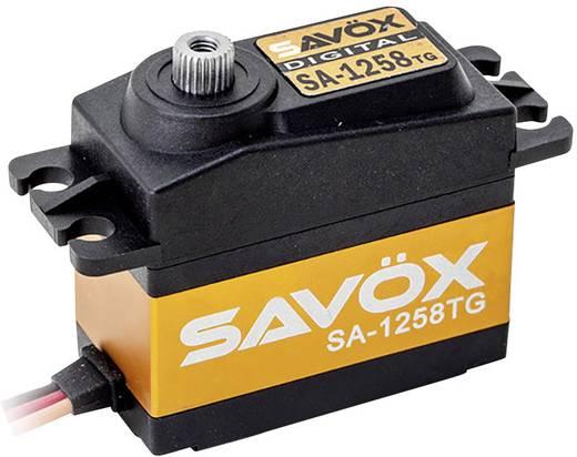 Savöx Standaard servo SA-1258TG Digitale servo Materiaal (aandrijving) Metaal Stekkersysteem JR